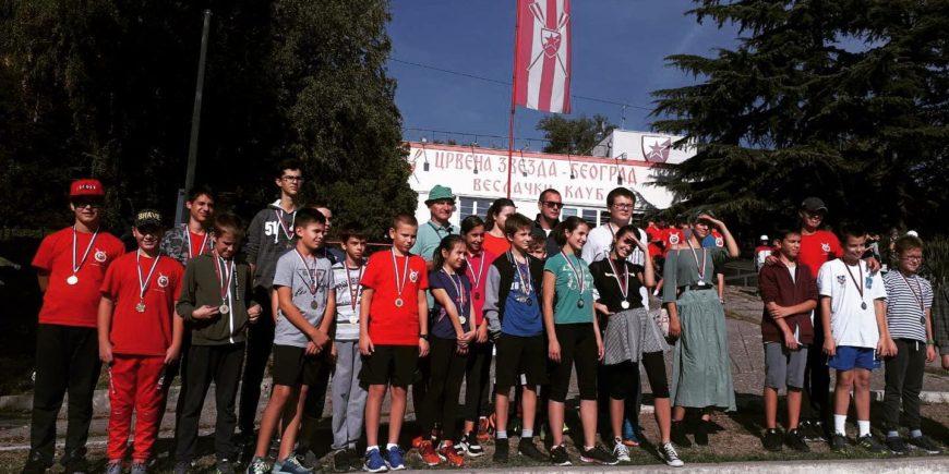 Prve medalje učesnicima vikend kampa