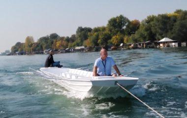 Nova galija za školu veslanja